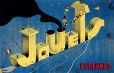Pierre Péron, Jouets. Étrennes, 1934, gouache sur carton, collection particulière. © DR.