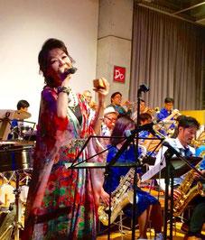 BRILLIANT GROOVY BIG BAND (BGBB) with 麻生ミツキータ光希, 町田ジャズフェスティバル, 町Jazz