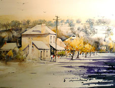 Carcoar An old silver mining town