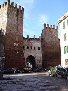Porta Tiburtina e Mura Aureliane