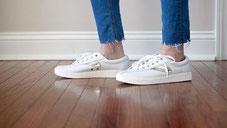schoenstrepen van vloer verwijderen