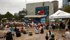 Australian Open Live-Übertragung auf dem Federation Square