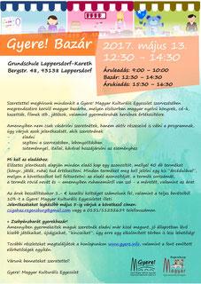 magyar iskola regensburg, Gyere! magyar bazár Regensburgban