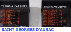 Saint Georges d'Aurac Gares en mouvement