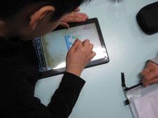 タブレットを使った学習支援 上田市の自閉症ADHD 発達障害の放課後等デイサービス