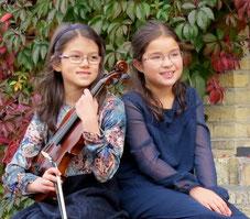 Maya Wichert, Sonja Uhlmann.  Foto: privat