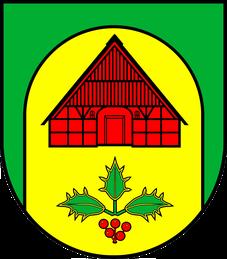 Das Borsteler Wapppen.