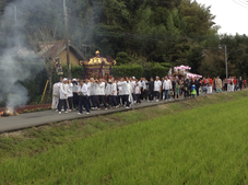 秋葉神社 神事祭:投稿@たかみーさん