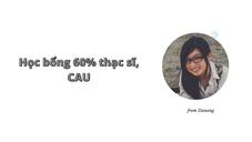 Hiền Thục- hs của Gsc đạt 60% học bổng tại đại học Chungang