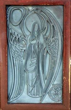 St David's Church - door detail