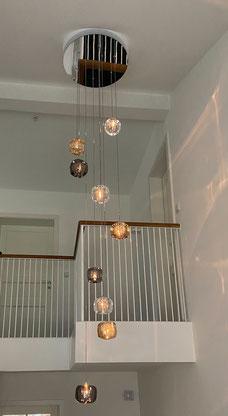 Kundenfoto - 9er-CUBIE Cluster im Treppenhaus