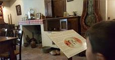 Intérieur maraichin à la Maison du Marais poitevin