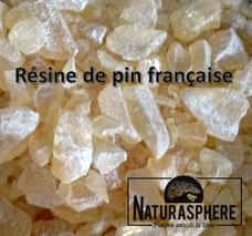 Résine de pin française alimentaire Colophane