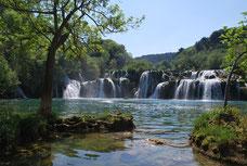 Le parc de Krka en Croatia