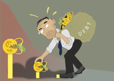 закрыть фирму с долгами