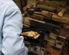 ブリサの森のピザ窯