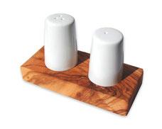 Set Salz- und Pfefferstreuer ALBERT auf Tablett