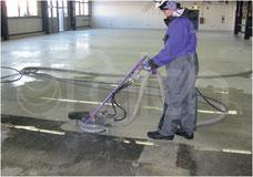 Industrie Bodenreinigung Boden Scheuern reinigen
