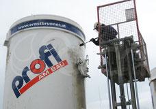 Industrie Reinigung reinigen Tanks außen innen