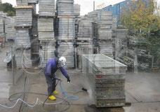 Schalungen reinigen Betonreinigung Hochdruck Höchstdruck Falch