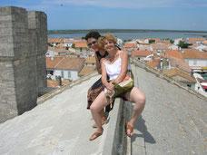 Sur le toit de Notre-Dame-de-la-Mer des Saintes-Maries-de-la-Mer