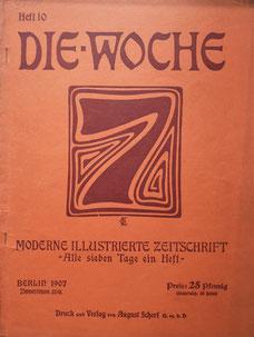 Topfmarkt Töpfermarkt Görlitz 1907 Woche Zeitschrift