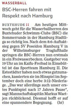 Hamburger Abendblatt vom 23.05.2012