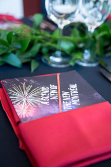 Leaflet given to influencers at the Place Ville Marie Summit invited by Tourisme Montréal to promote the city as a must-see tourist destination photo taken by Marie Deschene photographer for Pakolla
