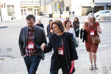 Guided tour in the streets of Montreal for influencers invited by Tourisme Montréal to promote the city co same essential tourist destination photo taken by Marie Deschene photographer for Pakolla
