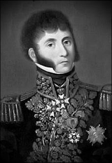 Général Gressot, chef de l'état-major du 7ème corps de la Grande Armée