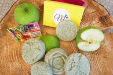 Haarseife Apfel