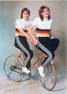 1985 Baunatal 2er Kunstfahren Frauen Christiane Wesche und Marion Mües