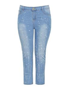 jeans in großen Größen, Jeans mollige Mode