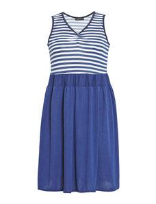 gestreiftes Sommerkleid XXL , frisches Kleid in Übergröße