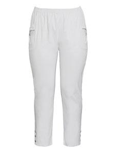 weiße Hose in großen Größen , weisse Hose Größe 50