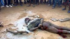 Membro della banda di Badoo picchiato a morte prima che il suo corpo venisse bruciato