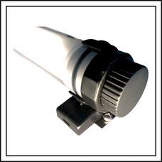Halterung für kabellose LED Lampe in Sonnenschirmen