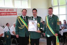 60 Jahre in Herbram: Spielmannszug Grundsteinheim