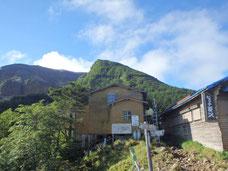 硫黄岳 テント泊 登山