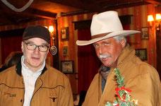 Sven Schriever (Ballermann Country Band) u. André Engelhardt (Ballermann Ranch)