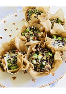Quinoa-Spargel-Muffin to go! März '19