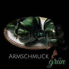 Armschmuck grün dunkelgrün