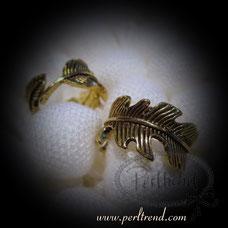 www.perltrend.com Fingerschmuck antikgoldfarben