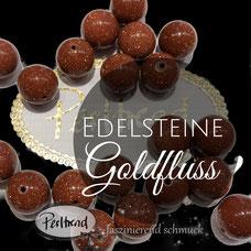 www.perltrend.com Edelsteine Gemstones Steine Perlen Heilsteine Schmuck Schmuckdesign Perltrend Luzern Schweiz Onlineshop gold stone Goldfluss Goldstein Edelsteinperlen