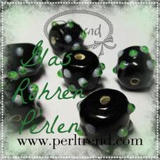Perlen Glas Röhren www.perltrend.com Rohr beads pearls Luzern Schweiz Online Shop
