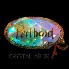Perltrend Luzern Schweiz Onlineshop Schmuck Perlen Accessoires Verarbeitung Design Swarovski Crystals Crystal original Crystal AB 2x Aurore Borealis irisierend doppelt beschichtet