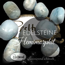 www.perltrend.com Edelsteine Gemstones Steine Perlen Heilsteine Schmuck Schmuckdesign Perltrend Luzern Schweiz Onlineshop Perle Schmuckstein  Hemimorphit hellblau weiss blau