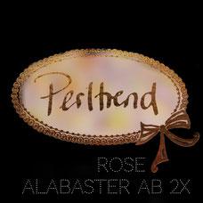 Perltrend Luzern Schweiz Onlineshop Schmuck Perlen Accessoires Verarbeitung Design Swarovski Crystals Crystal original Rose Alabaster AB Aurore Boreale 2x