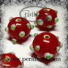 www.perltrend.com Glas Perlen Dots Punkte gepunktet 50s fun Spass sweet süss muster