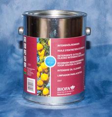 WOHNGUT empfiehlt : Holzböden aufarbeiten mit Biofa Intensivölreiniger